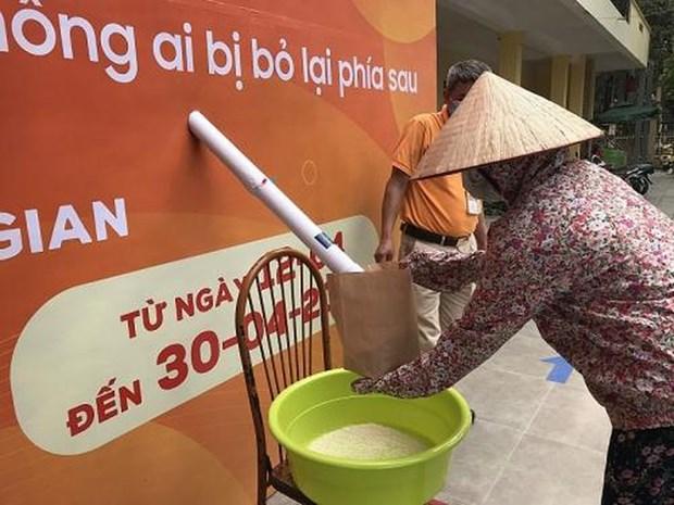 越南建立更加全面且不让任何人掉队的增长模式 hinh anh 1