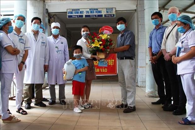 越南连续6天无新增确诊病例 hinh anh 1