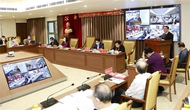 河内市委通过展开城市铁路项目和智慧城市项目的主张 hinh anh 1