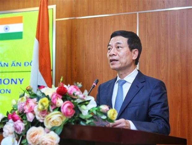 越南与印度友好协会向印度人民捐赠10万只抗菌口罩 hinh anh 1