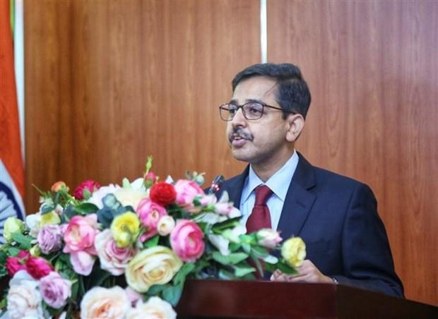 越南与印度友好协会向印度人民捐赠10万只抗菌口罩 hinh anh 3