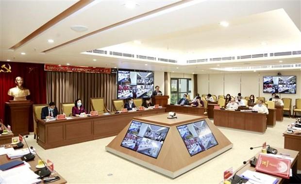 河内市委通过展开城市铁路项目和智慧城市项目的主张 hinh anh 2