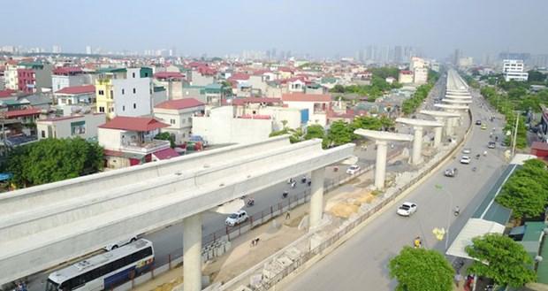 河内市通过建设3号和5号城铁项目的主张 hinh anh 1