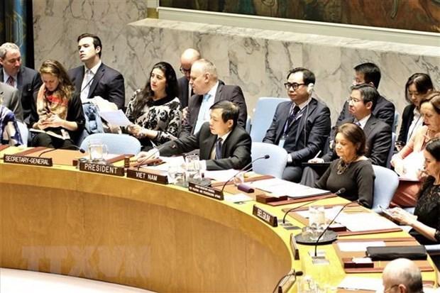 越南为维护地区和世界和平、稳定、合作与发展做出积极贡献 hinh anh 1