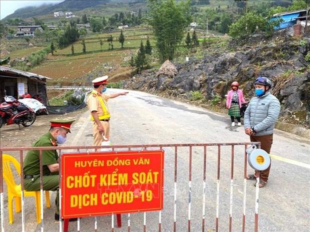 河江省将封锁同文县左轲村和隔离清水乡卫生站 hinh anh 1