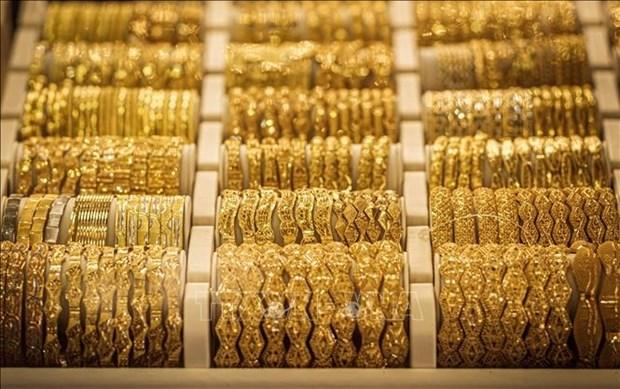 23日国内黄金价格上涨25万越盾 hinh anh 1