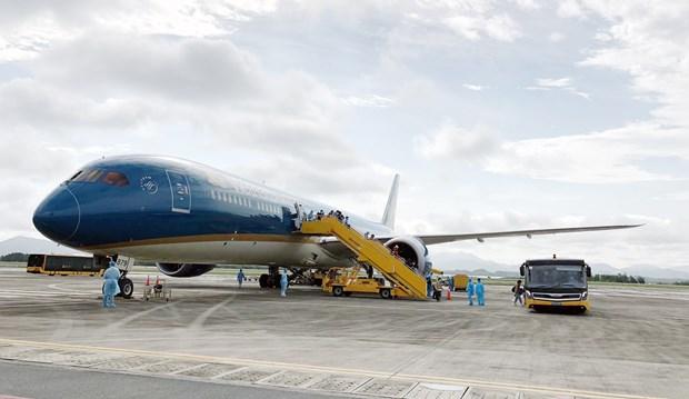 广宁省云屯国际航空港从5月初起恢复国内商业客运航班运营 hinh anh 1