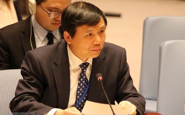 """越南重申支持""""两国方案""""解决巴以问题的一贯立场 hinh anh 1"""