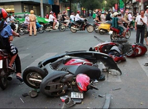 越南交通事故三项指数呈下降趋势 hinh anh 1
