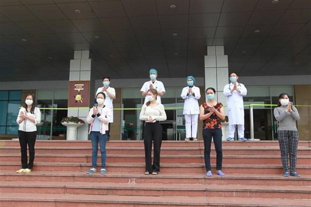 新冠肺炎疫情:越南新增治愈出院患者5例 hinh anh 1