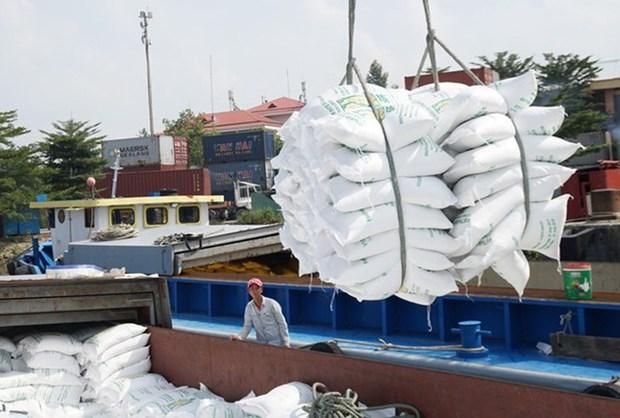 自4月26日0时起越南出口4月份配额外的3.8万吨大米 hinh anh 1