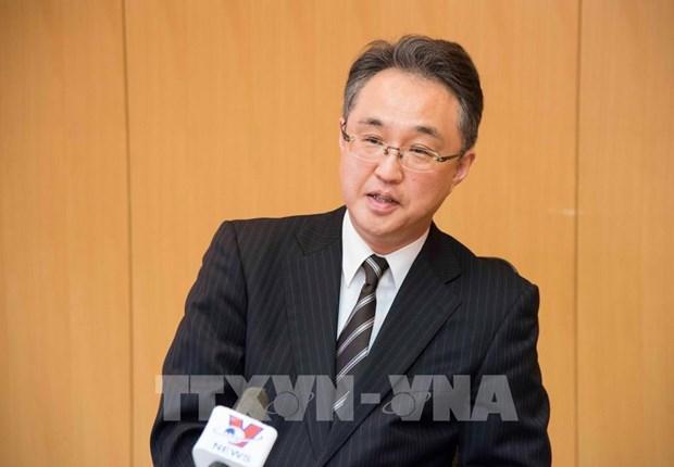 越南国家统一45周年:JETRO副理事长高度评价越南改善国际贸易政策的努力 hinh anh 1