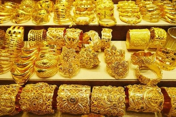 越南国内黄金价格有所下降 hinh anh 1