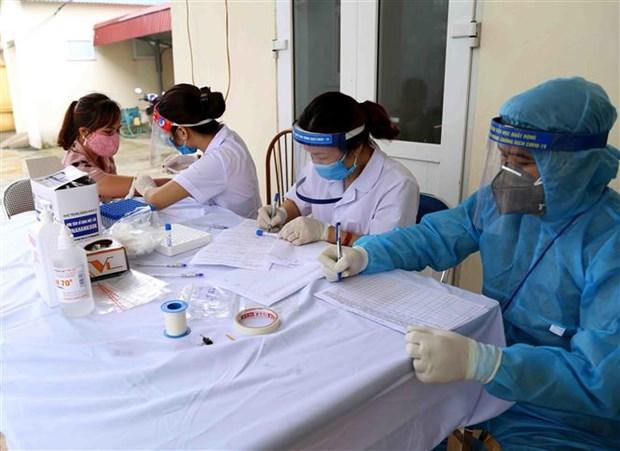 越南连续11天无新增本地社区传播病例 hinh anh 1