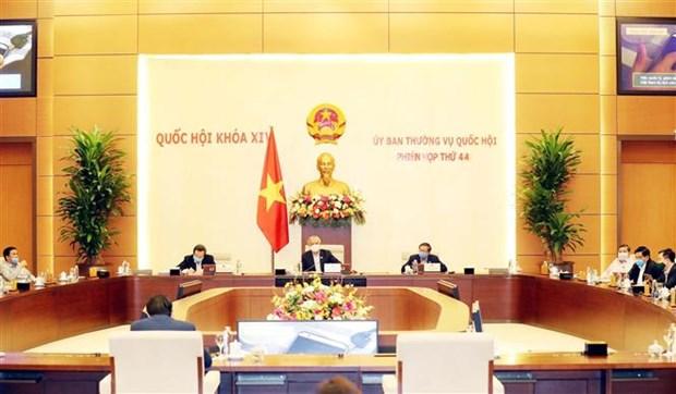 越南国会常委会第44次会议:利用社交网络提高虐待儿童防治工作效率 hinh anh 1
