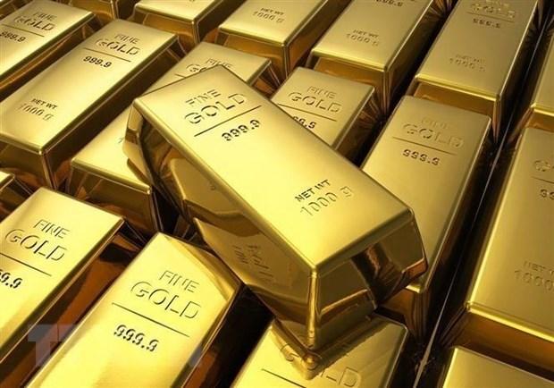 越南国内黄金价格下降20万越盾 hinh anh 1