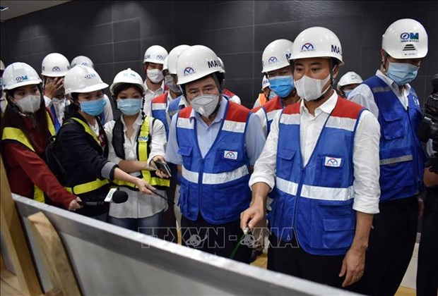 胡志明市将尽快运输日本列车到越南 hinh anh 1