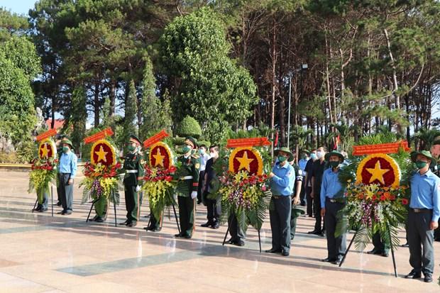 得乐省为战争时期在柬埔寨牺牲的英烈举行追悼会和安葬仪式 hinh anh 2
