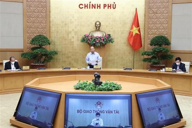 阮春福总理:越南已基本击退了新冠肺炎疫情 hinh anh 1