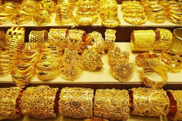 越南国内黄金价格略增 卖出价超过4800万越盾 hinh anh 1