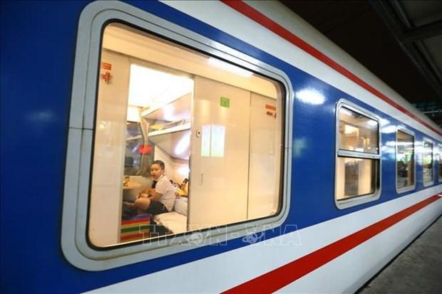 越南北南铁路线新增多条客运线路 hinh anh 1