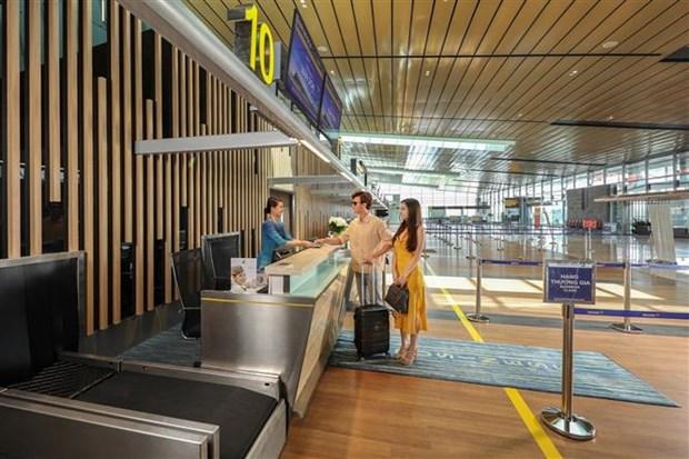 自5月4日起广宁省云屯国际机场恢复商业航线运营 hinh anh 2