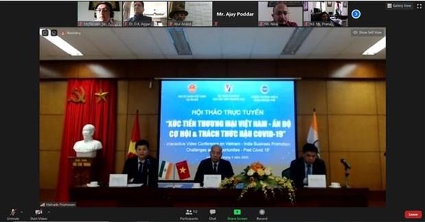 越南与印度促进新冠肺炎疫情后的投资经营活动 hinh anh 1
