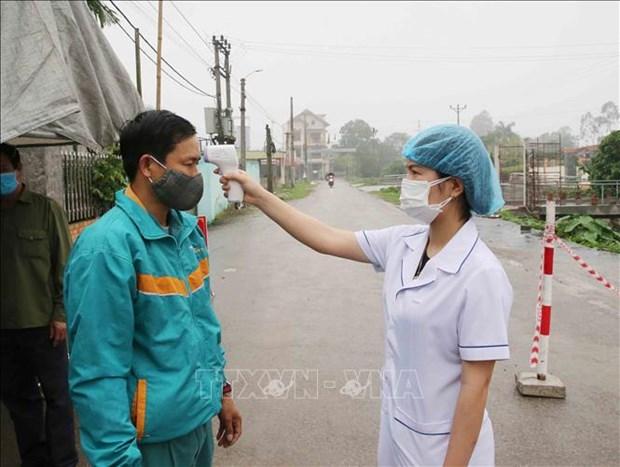 阮春福总理:加强新冠肺炎疫情防控工作中落实工作的检查力度 hinh anh 2