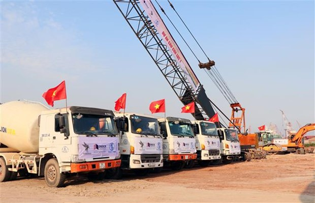 广宁省绿门1号桥建设项目动工兴建 hinh anh 1