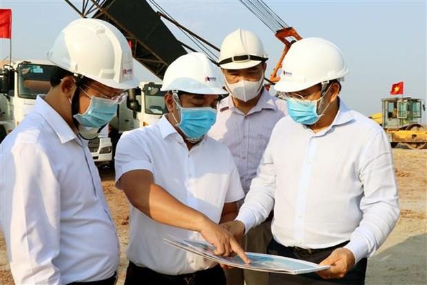 广宁省绿门1号桥建设项目动工兴建 hinh anh 2