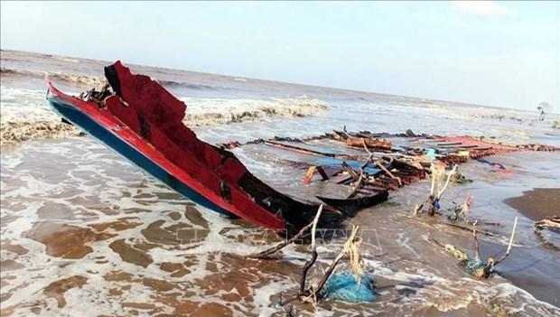 印尼籍运米货轮在越南海域被沉没 全力搜救失踪船员 hinh anh 1