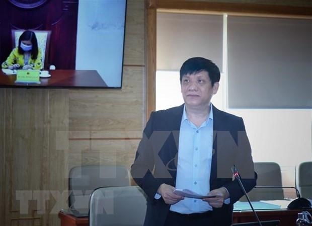 2020东盟轮值主席年:东盟与美国卫生部长会议以视频方式召开 hinh anh 1