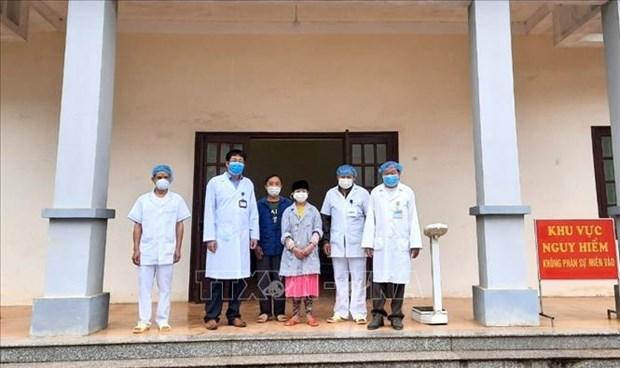 河江省首例新冠肺炎确诊病例被治愈 但仍继续留在医院接受隔离观察 hinh anh 1