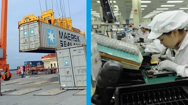2020年前4月越南实现贸易顺差额达30亿美元 hinh anh 1