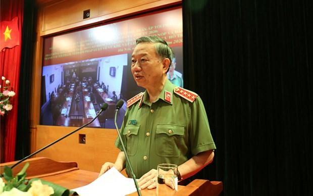 越南南方解放、国家统一45周年:越南人民公安力量对抗美救国战争起着作用 hinh anh 1