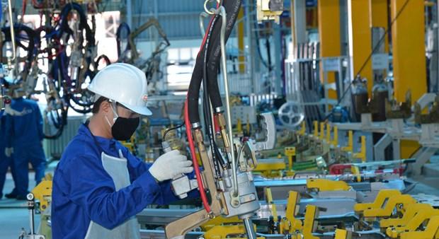 2020年前4月越南工业生产指数同比增长1.8% 创历史新低 hinh anh 2