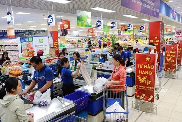 4·30和五一假期越南超市系统销售力增长10%-40% hinh anh 1