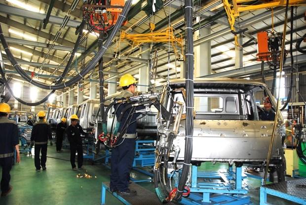 2020年前4月越南工业生产指数同比增长1.8% 创历史新低 hinh anh 1
