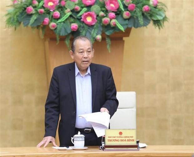 政府副总理张和平:SCIC需努力成为政府的职业投资者 hinh anh 1