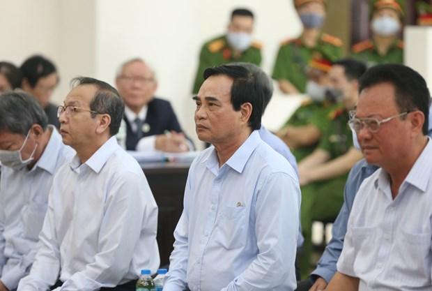 岘港市两名原领导和潘文英武勾结操纵土地价格案件二审开庭 hinh anh 2