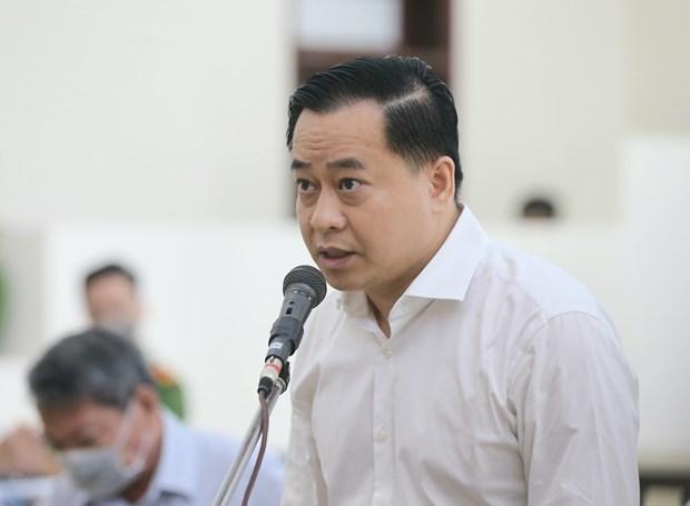 岘港市两名原领导和潘文英武勾结操纵土地价格案件二审开庭 hinh anh 1