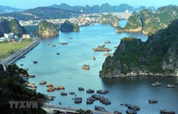 广宁省准许下龙湾上的旅游住宿服务恢复运营 hinh anh 1
