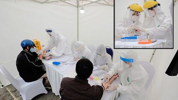 越南成功研发的新冠肺炎病毒快速检测试剂盒 hinh anh 1