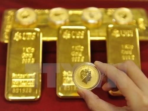 5月5日越南国内黄金价格下降20万越盾 hinh anh 1