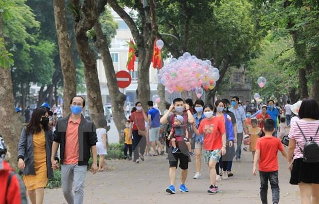 4·30和五一假期河内接待游客量大幅下降 hinh anh 1