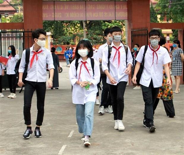 强化各所学校的防疫责任意识 hinh anh 1