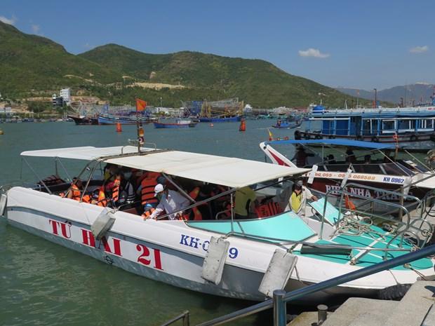 越南旅游:庆和省芽庄旅游码头投入试运营 hinh anh 1