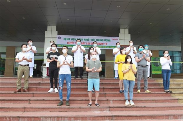 新冠肺炎疫情:越南新增治愈病例11例 hinh anh 1