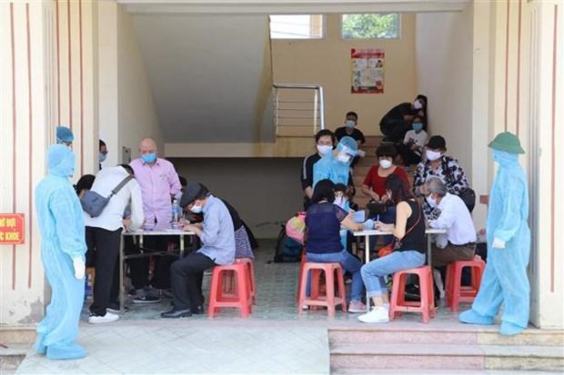 宁平省对从国外返回的81名越南公民进行隔离 hinh anh 1