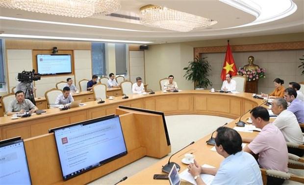 梅进勇部长:开展在线公共服务工作有助于节省人民和企业的时间和费用 hinh anh 2
